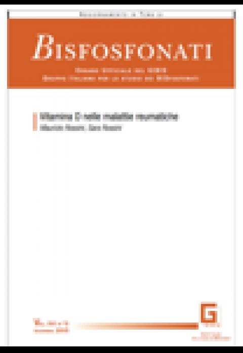 Rivista Bisfosfonati 2015 Vol.16 N.3